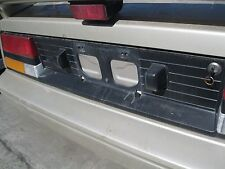 TAIL FINISH PANEL 85 86 Toyota MR2 Tail Panel/ Tag Holder
