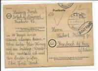1947   Irlich ü. Neuwied * Fahr gest.+ Zusatzstempel n. Kasbach