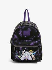 Official Loungefly Disney Villains Mini Backpack Bag New
