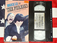 The Furious (VHS) Bruce Le, Martial Arts Kung Fu Video Cult Classic Movie Rare