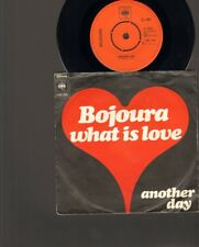 """BOJOURA What is Love SINGLE 7"""" Another Day 1973 Dutch Beat NEDERPOP"""
