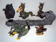 Dragon Gargoyle Egg Incense Burner Papo Action Figure Toy Fire Breathing Lot