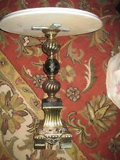 Antique ROUND Marble Top FINE MARBLE BASE HANDMADE IN ITALY