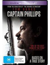 Captain Phillips (DVD, 2014) regions 2,4,5 (Tom Hanks)