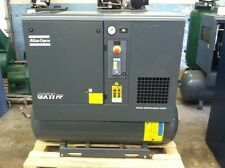 2016 Atlas Copco GX11FF Rotary screw air compressor with integrated air dryer