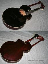 "1917 Gibson Harp Guitar Style ""U"", Black (#GIA0086)"