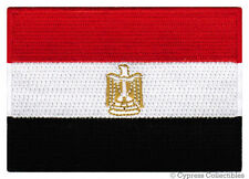 EGYPT FLAG embroidered iron-on PATCH EGYPTIAN ARAB SPRING MIDDLE EAST EMBLEM new