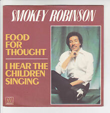 "ROBINSON Smokey Vinyl 45T 7"" SP 1981 FOOD FOR THOUGHT - MOTOWN 101547"