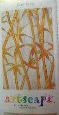 "New Artscape Self Adhering Window Covering Film 24"" x 36"" Bamboo #115"