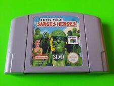 Army Men Sarges Heroes - Nintendo 64 PAL