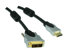 Premium DVI-D-HDMI Cable digital (1080p/fullHD)/2,5 M