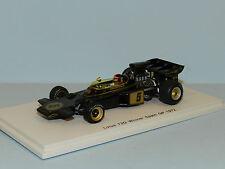 Spark Models 1/43 Lotus 72D Winner Spain GP 1972 Emerson Fittipaldi #5 MiB