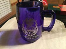 Harley-Davidson #1 Police Badge Eagle Bar & Shield 11oz Coffee Mug  rare blue