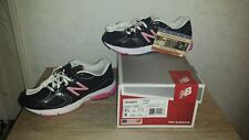 Women's New Balance W580bp2 Black/Pink Running Course Sneakers 580 Size 6 D NEW