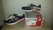 Women's New Balance W580bp2 Black/Pink Running Course Sneakers 580 Size 6 B NEW