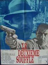 Le DEUXIEME SOUFFLE SECOND BREATH French movie poster MELVILLE LINO VENTURA