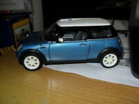 Mini Cooper Blue Sunny Side 6711 2001 Diecast 1:24 Scale Collectors Mint Model