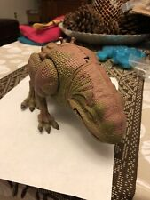 """1997 Star Wars Trilogy Power of the Force  DEWBACK lizard KENNER 10""""L x 4.5""""H"""