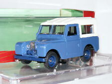 Vitesse 470 1960 Land Rover Series II SWB Blue/White 1/43