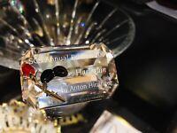New swarovski harlequin Title Plaque Crystal