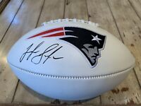Josh Gordon Autographed/Signed Football JSA Sticker New England Patriots