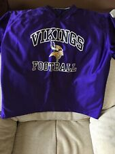 minnesota vikings Reversable Pullover Xl