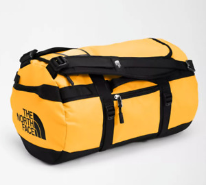THE NORTH FACE BASE CAMP DUFFEL BAG SIZE XS SUMMIT GOLD / TNF BLACK