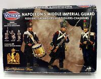 VICTRIX Napoleon's Middle Imperial Guard Grenadiers & Chasseurs MINIATURES 28mm