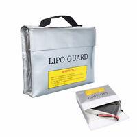 1x Lipo Safe Guard Bag 18x22cm Schutztasche Ladetasche Akku 2S 3S 4S 5S 6S w/