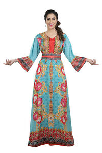 Floral Digital Printed Home Gown Maxi Dress With Pearl Embroidery Work 8488
