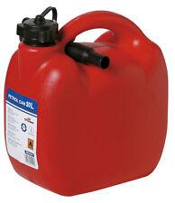 Rojo Y Duradero De Plástico Grande 20l Jerry fuelóleo Agua Gasolina puede Contenedor Y Embudo