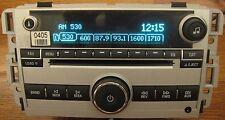 NEW & Unlocked 07-09 CHEVY IMPALA EQUINOX 06-12 AM FM 6 CD RADIO 3.5mm AUX INPUT