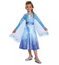 Girls' Disney Frozen 2 Elsa Deluxe Halloween Costume SP 4-6