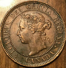 1901 CANADA LARGE CENT 1 CENT PENNY - Excellent example!
