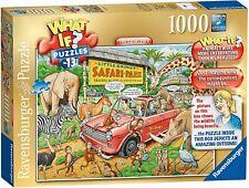 Ravensburger Jigsaw Puzzle WHAT IF No 13 SAFARI PARK - 1000 Pieces