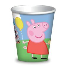 Peppa Pig Deluxe Party Kit for 16 Room Banner Pink N Blue Balloons …