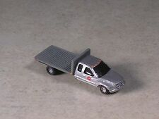 N Scale Silver Dodge Ram Flat Bed PickupTruck