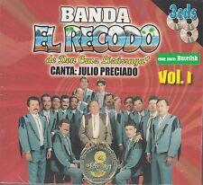 Banda El Recodo de don Cruz Lizarraga Canta Julio Preciado 3CD Box set VOL 1 NEW