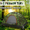 2 Person Waterproof Camping Tent Automatic Quick-opening Outdoor Fishing Hiking
