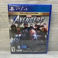 Marvel's Avengers Deluxe Edition PS4 Sony PlayStation 4 New Sealed Free Shipping