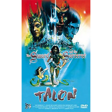 DVD THE SWORD AND THE SORCERER Talon No 144/250 LIMITED GROSSE HARTBOX UNCUT