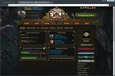 Path of Exile Account PC (Supporter Packs )