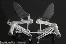 HONDA CBR900RR SC28 1992 -95 CNC step kit with carbon heel guards