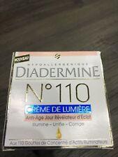 DIADERMINE n°110  Crème de lumière Révélateur d'éclat Crème de jour Anti Age
