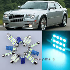Ice Blue Car Auto Light Interior Package 7x for Chrysler 300/300C 2005-2010 LA