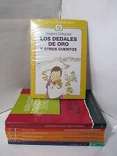 LOS DEDALES DE ORO Y OTROS CUENTOS Graded Spanish Literature Libros en Espanol
