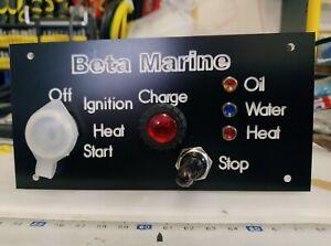 BetaMarine instrument panel and wiring loom