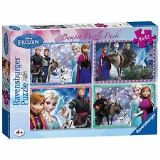 Disney Frozen 4X 42 Piece Jigsaw Puzzle Bumper Pack From Debenhams