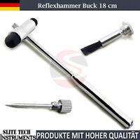 Reflexhammer Buck 18 cm Nadel und Pinsel Hammer Perkussionshammer Diagnostik