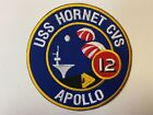 PK2166 Original US Navy 1960s USS Hornet Recovery Ship For Apollo 12 Patch L2A